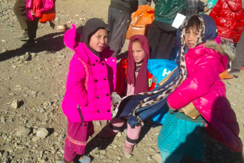 Winterhilfe Bamiyan 2017 -  Visions4Children