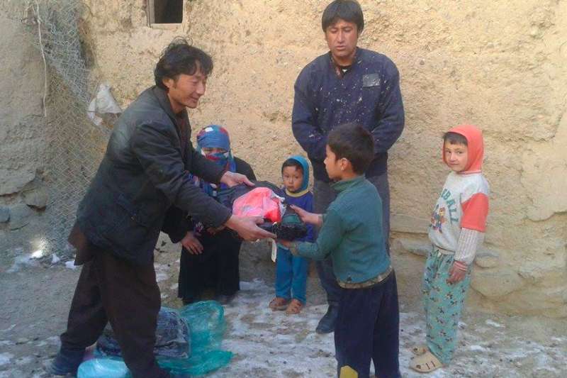Winter Relief Campaign Bamyan 2015 -  Visions4Children