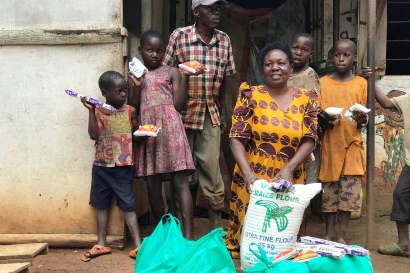 Corona Aktion 2020 – Nothilfepakete für Mukono, Uganda -  Visions4Children