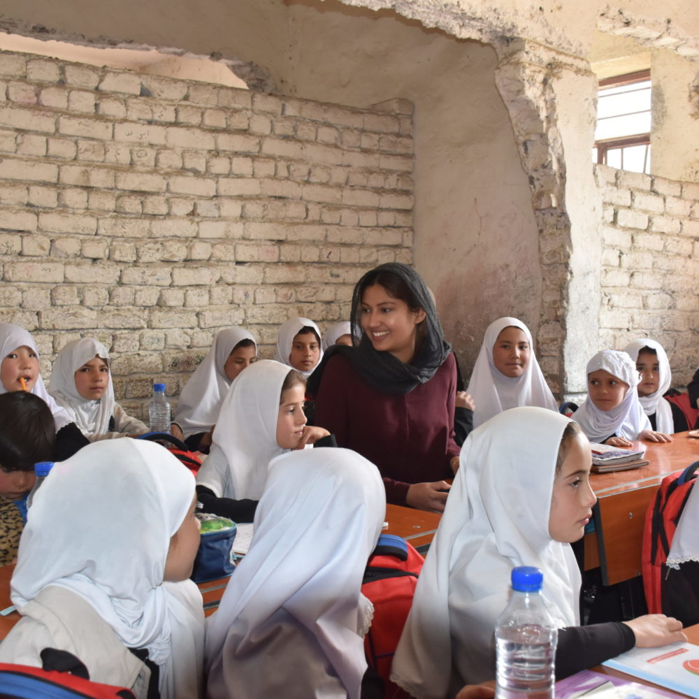 Khwaja Boghra Primary and Secondary School -  Visions4Children