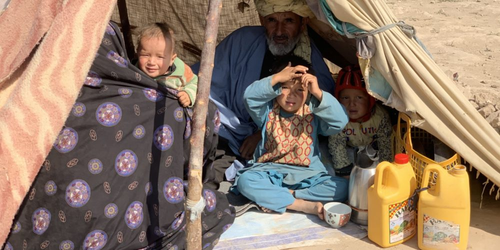 Winterhilfe 2020 - IDP Camp Urdu Bagh in Herat - Visions4Children