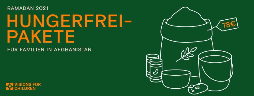 Kampagnen-Bild Nothilfe Ramadan 2021: Hungerfrei-Pakete für Familien in Herat, Afghanistan Visions4Children